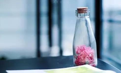 我们每个人就像一个空瓶子,-一个空瓶 此生必读