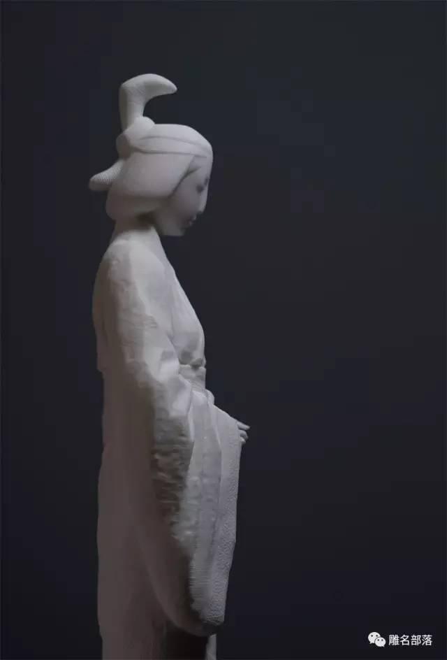 仕女当代人物人体雕塑