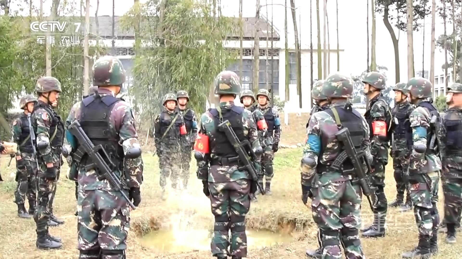 解放军特种兵训练