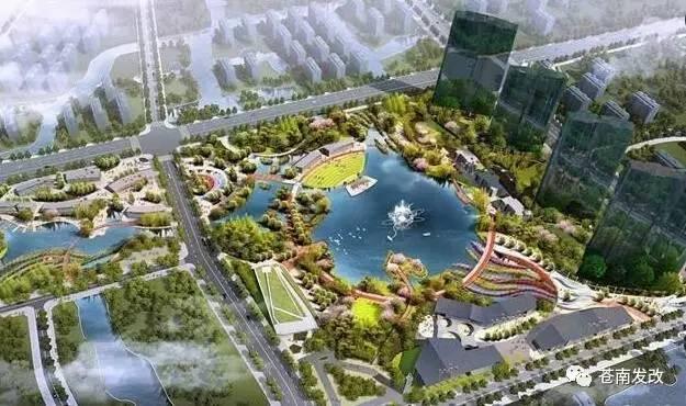 龙港世纪新城规划图