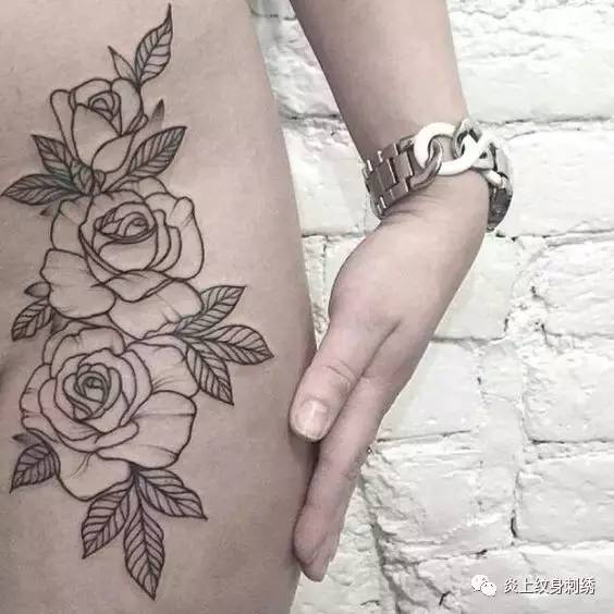 素花纹身手稿吧分享展示