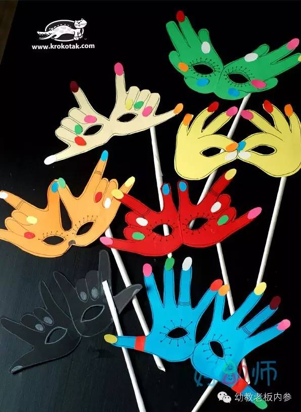 幼儿园可爱的手掌小制作图片