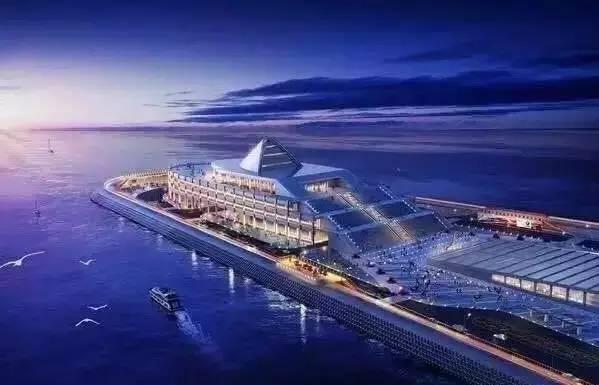港珠澳大桥亮灯 宛如海上发光的 巨龙 ,更有6大NB