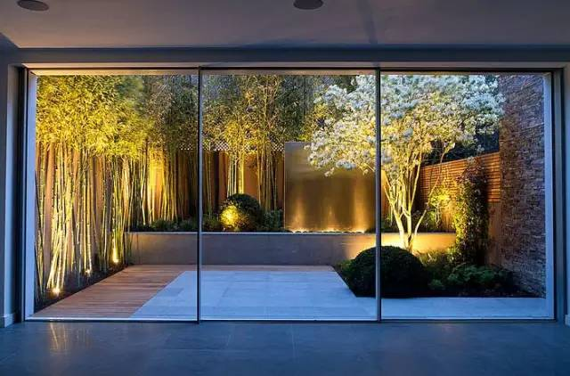 静谧的禅意庭院小景