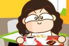 004 宝贝吃早餐了。 ―― 每天教孩子一点点