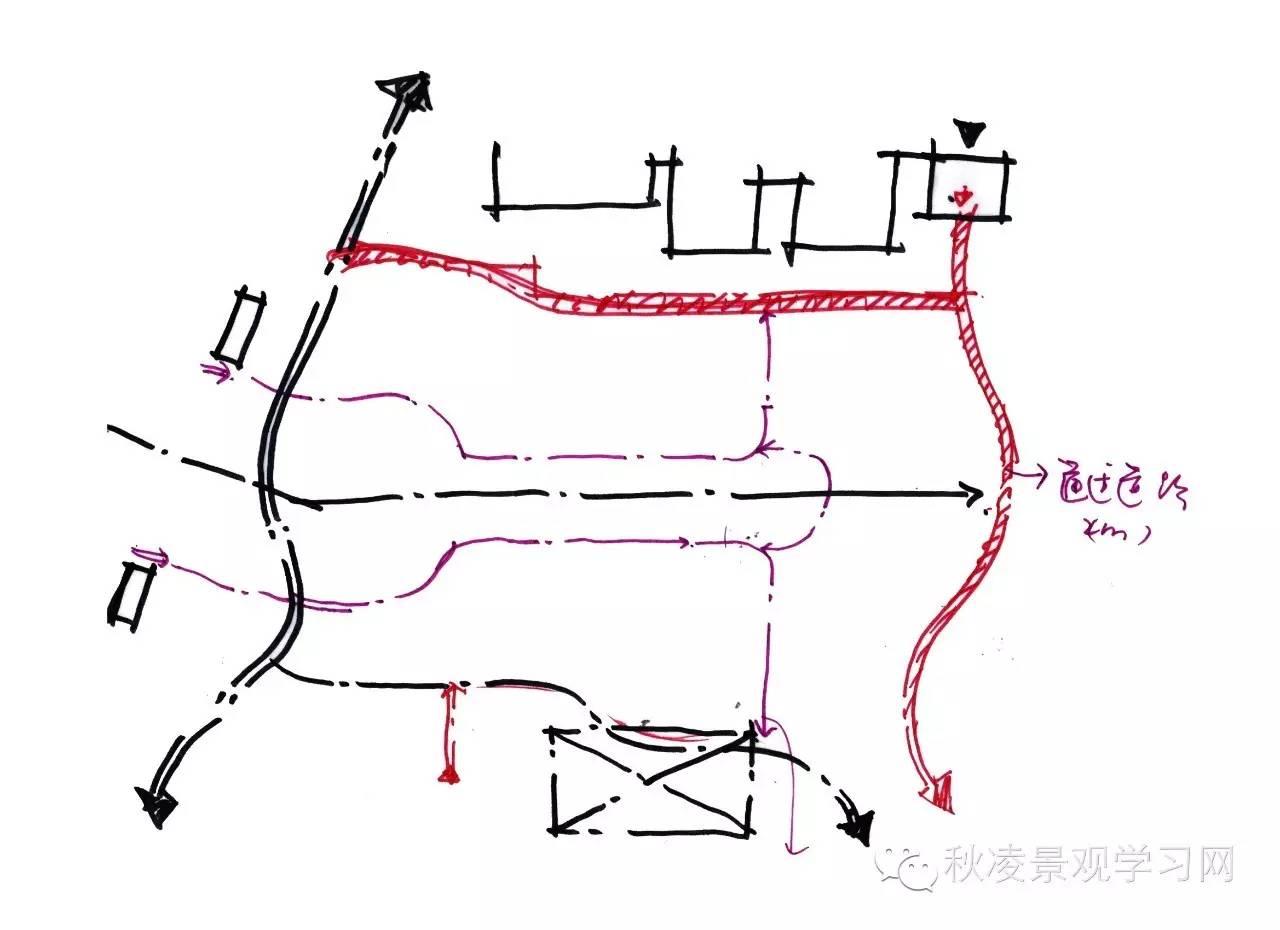 方案设计 主入口景观设计构思步骤范例模具v入口一些机械方法图片