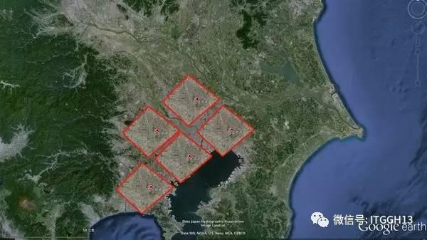 基本相当于北京,上海,广州,深圳这几个建成区直接拼接起来那么大.
