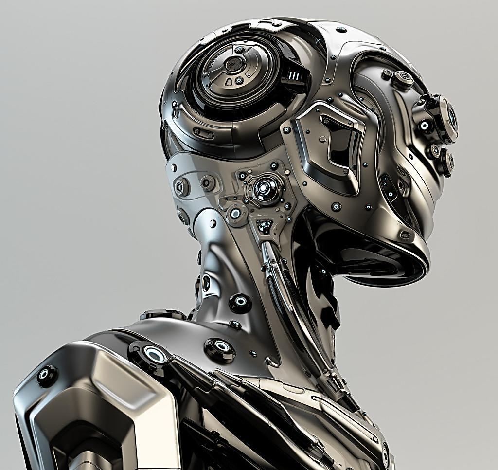 机械战士听起来很科幻,但实际上以现代的科技水平,要实现一点也不难,美军的大狗机器人装上武器,就是一个机械战士,当然,这东西需要一套遥控系统,类似于操控无人机.