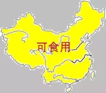 吃货眼中的中国旅游地图