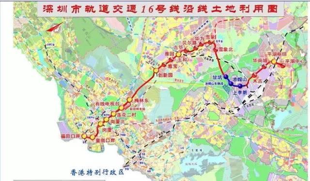 深圳大鹏地铁规划图