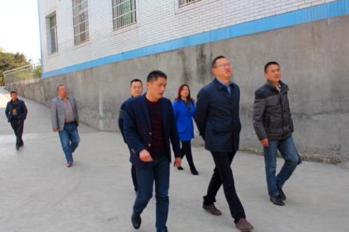 岷东新区管委会领导到新华小学调研视察工作图片
