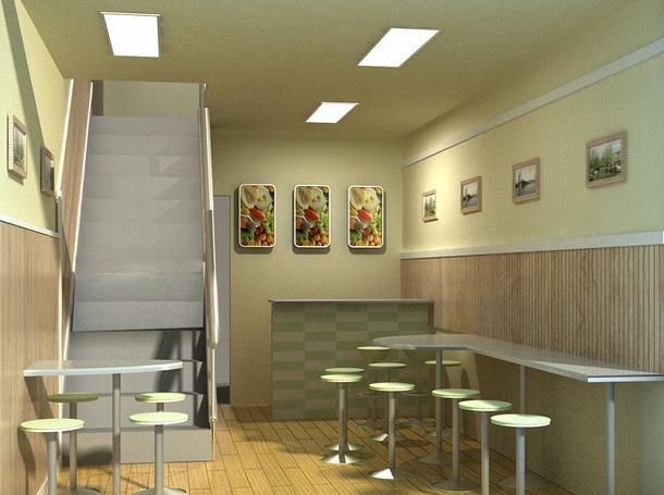 西安小吃店装修设计原则 如何打造特色小吃店