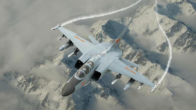 不过歼10确实也不负众望,该机采用大推力涡扇发动机和鸭式气动布局,是图片