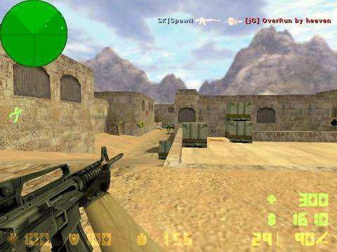 cs1.6可以左手持枪 你的m4喜欢加消音器吗?