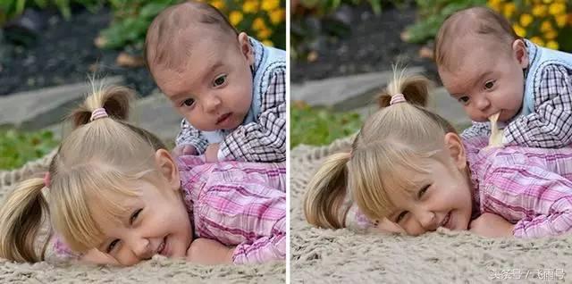 无码弟弟干网_姐弟俩拍照,姐姐笑得那么开心,她好像真得不知道弟弟在上面干了什么