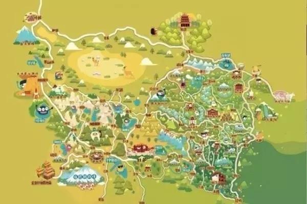 西藏及周边旅游q版攻略2018世界杯v攻略地图图片