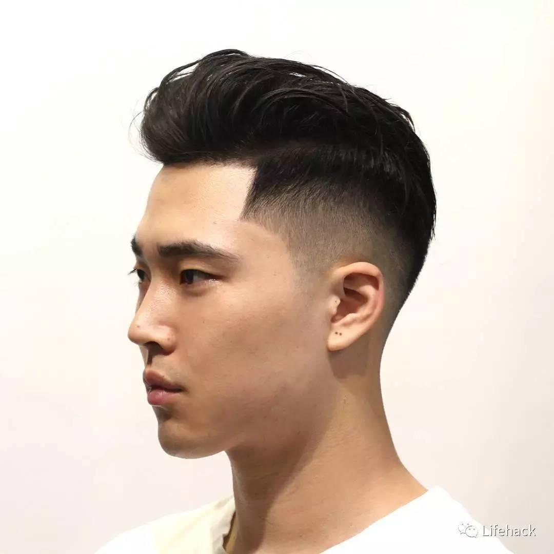 从青涩到气质的完美蜕变 ▼ 所以 以后别再说男生只需看脸了 发型也是