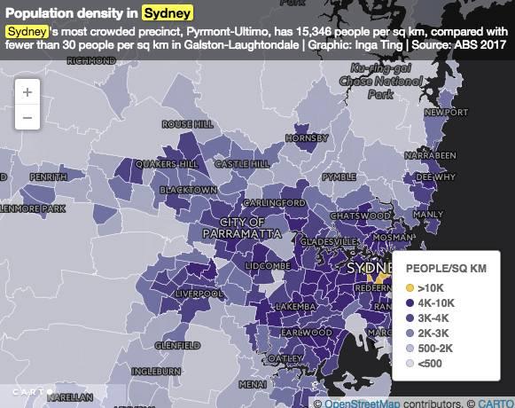 悉尼人口密度_澳讯 十年航拍图, 看看悉尼到底有多挤
