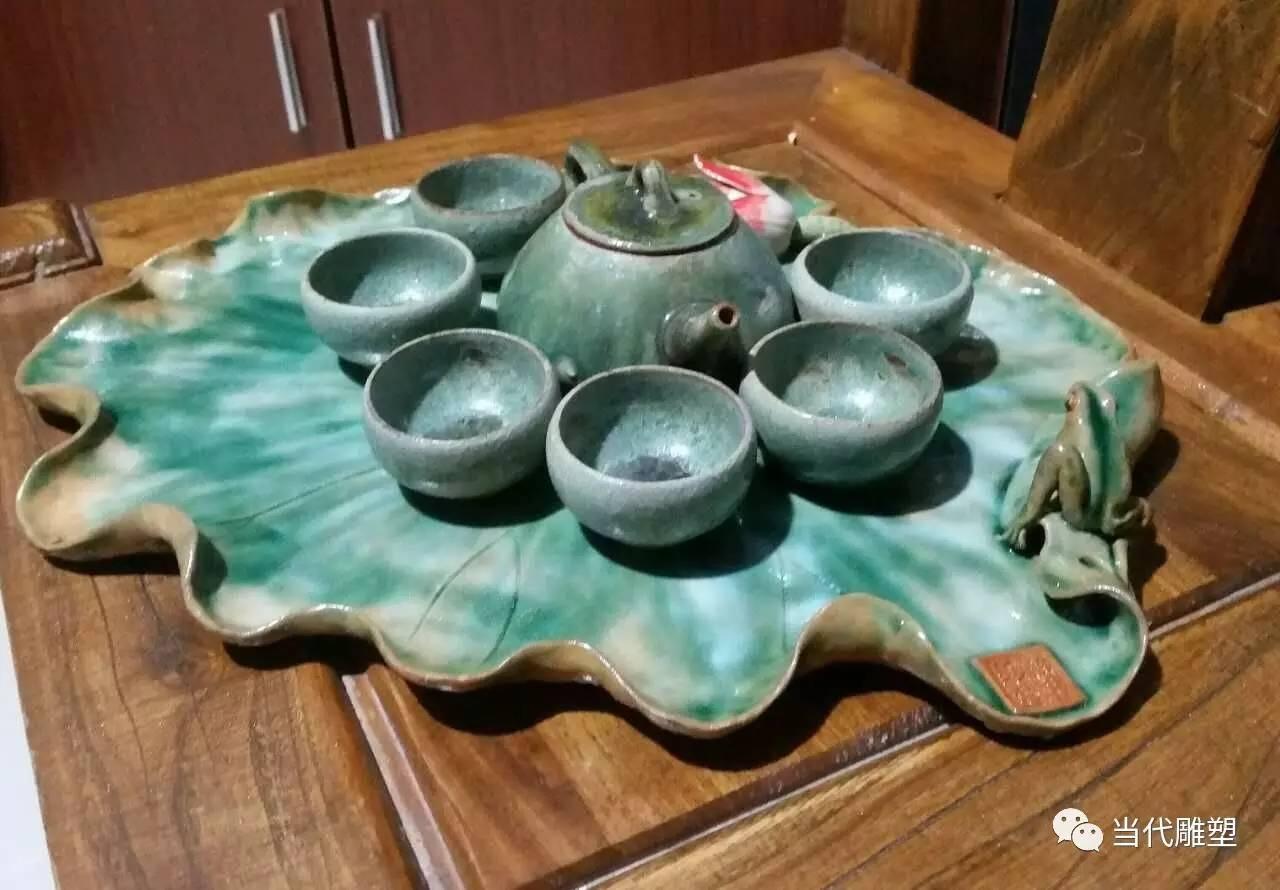 茶海陶瓷雕塑