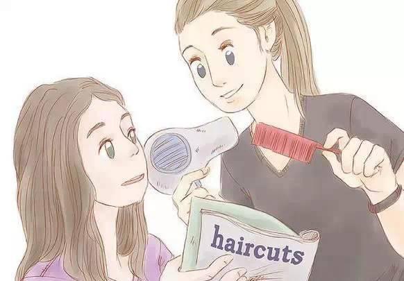 短发女人卡通图片大全
