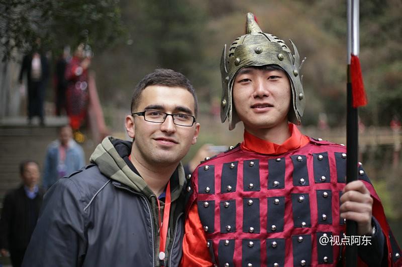 土耳其留学生德龙:我很喜欢旅行,汉中让我留连忘返 - 视点阿东 - 视点阿东