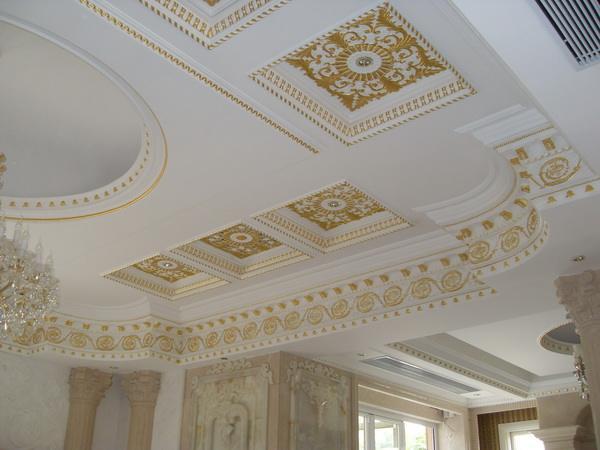 经特殊处理的耐水纸面石膏线可用于湿度较大的房间墙面.图片