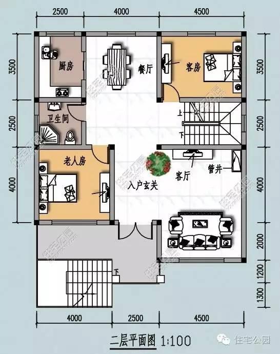 以下为指标及工程预算表: ▲房屋顶部开设多个天窗天井,可保障室内图片