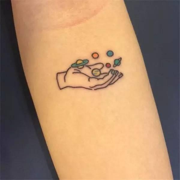 【星系元素】这样的纹身才高级