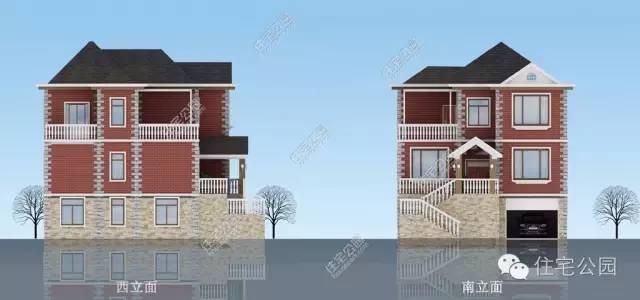 6套农村别墅,户型图 设计图 cad图 预算!完整资料!