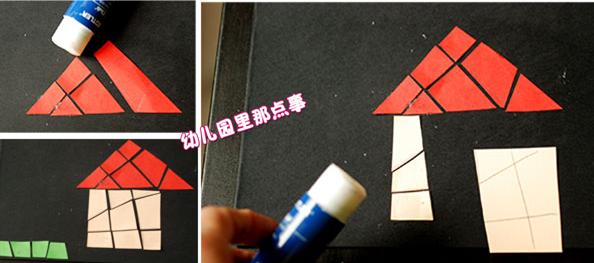 幼儿园创意亲子手工DIY之彩窗玻璃贴画