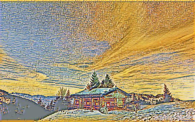 达芬奇永远都画不出来的抽象画 人工智能抽象画