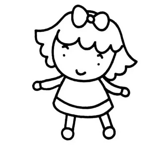 各类人物幼儿简笔画大全!一起学一学画一画吧!