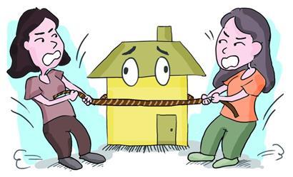 爹爹将遗产留给保姆养女索要继承权80万房子怎么分