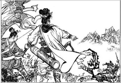 女农民简笔画