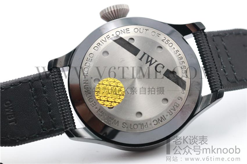 老K谈表第134期:ZF厂顶级复刻万国IW502003拆解评测!