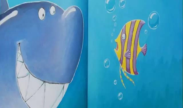 幼儿园大班绘本教案课件《爱笑的鲨鱼》视频 绘本ppt