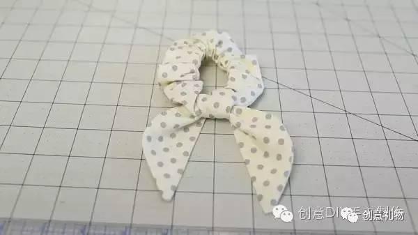 头饰|diy兔耳朵发圈布艺手工制作教程