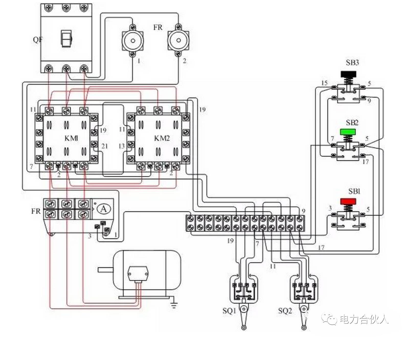 维修电工必知必懂 行程开关作用原理及实物接线图