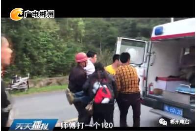 王仙岭翻车事故现场,这些好人为伤员救治赢得时间