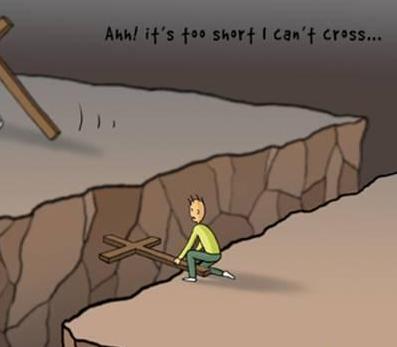 当你想放弃时候,请看看这个漫画