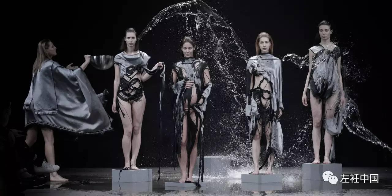 遇水即溶的未来时装震撼全场 ART 第1张