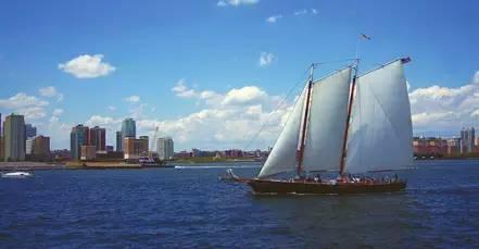 帆船文艺手绘图