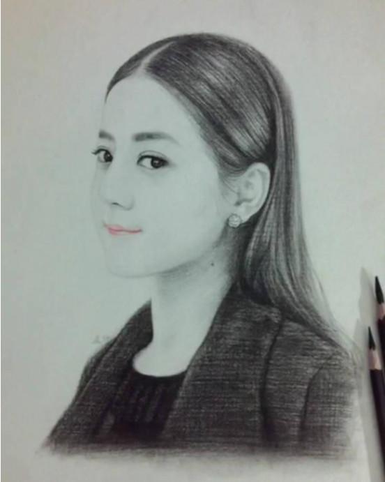 女星手绘图, 赵丽颖可爱