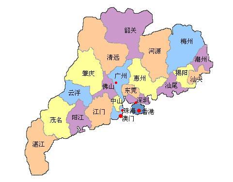 香港的地理位置_我只想提两个关键点:其一,位置.