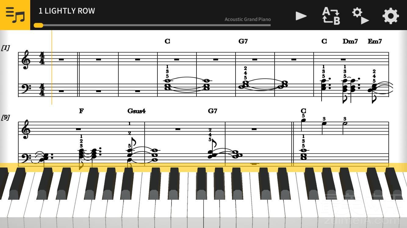 被《四月是你的谎言》虐哭的你,用这个应用圆你的钢琴图片