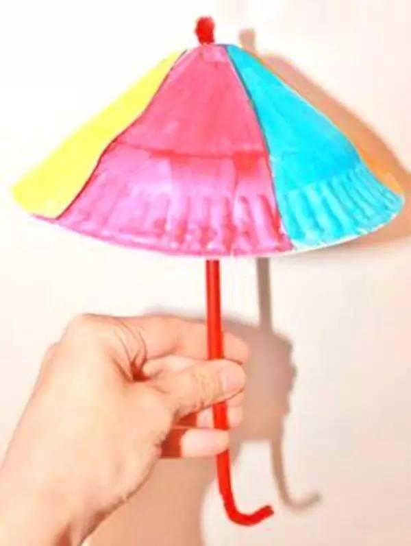小手艺·播 | diy一款雨伞挂饰,为生活增添一抹春色!