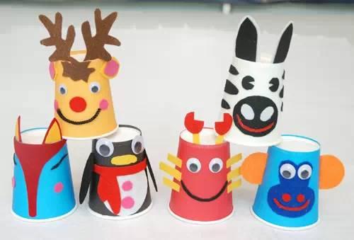 幼儿园纸杯创意手工,让孩子玩疯了!图片