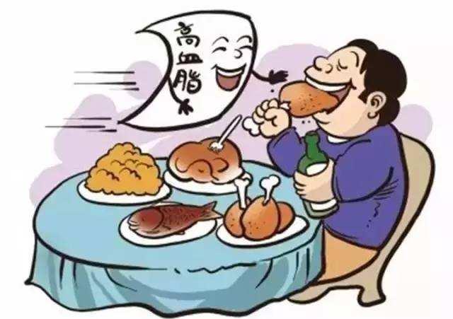 不健康的生活方式特别电竞是不健康饮食后果很严重!
