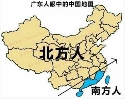 各省份人眼中的中国地图图片