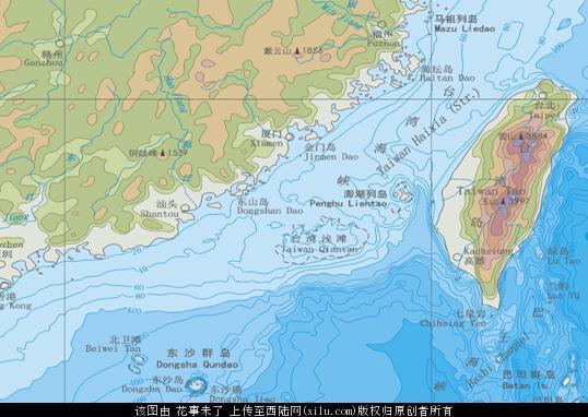 """博尔顿表示:""""台湾因在地理位置上比冲绳和关岛更靠近中国大陆以及南海"""